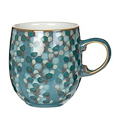 Denby - Azure shell mug