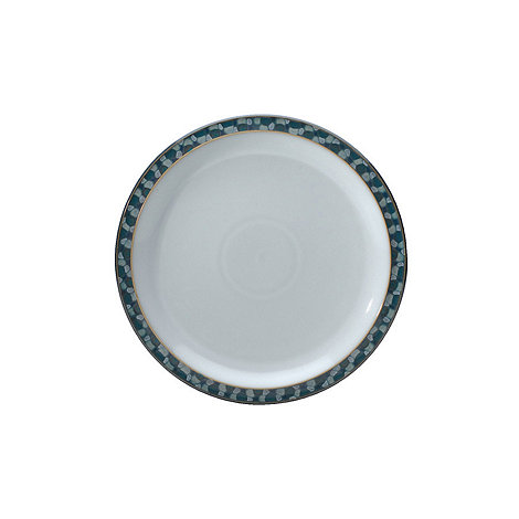 Denby - Azure shell dinner plate