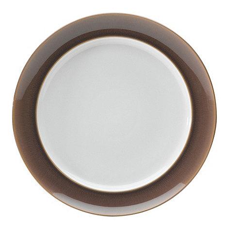 Denby - Truffle wide rimmed dinner plate
