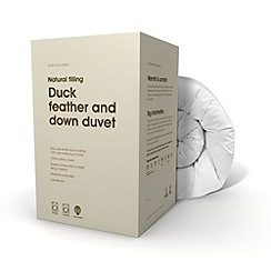 Debenhams - Duck feather & down 13.5 tog duvet