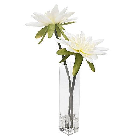 Grey Rose by Jane Packer - Lotus flower arrangement