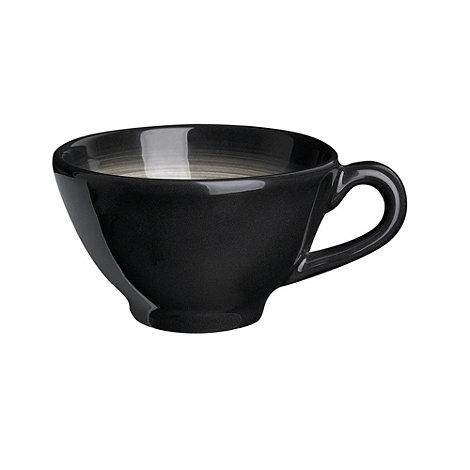RJR.John Rocha - Dark grey +Shade+ tea cup/ tea saucer