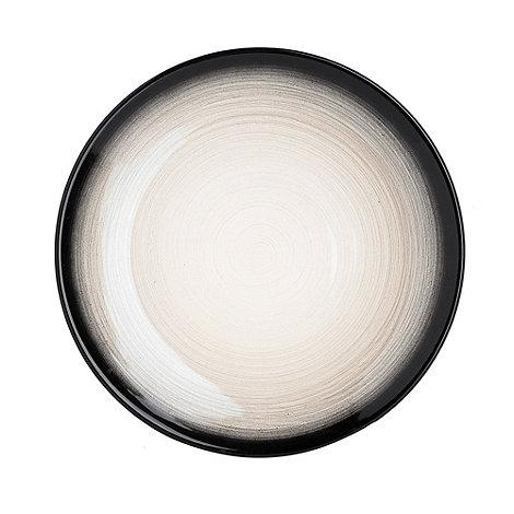 RJR.John Rocha - Dark grey +Shade+ dinner plate