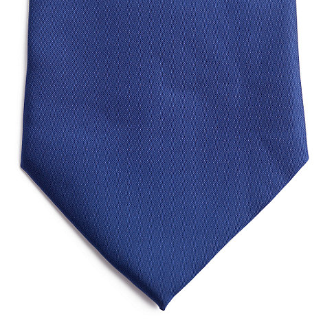 Thomas Nash - Navy plain tie