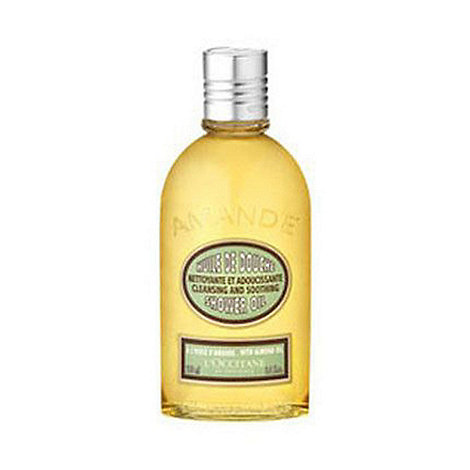 L+Occitane en Provence - Almond cleansing, softening and foaming shower oil