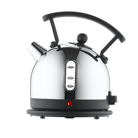 Dualit - Silver polished traditional kettle