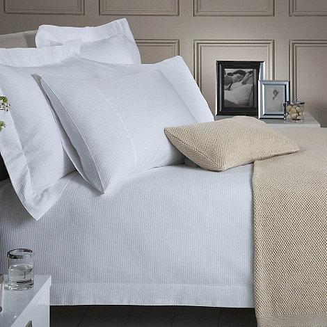 J by Jasper Conran - White +Riverton+ bed linen