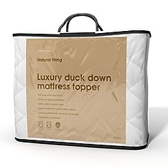 Debenhams - Duck down mattress topper