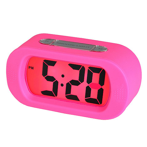 Acctim - Pink alarm clock