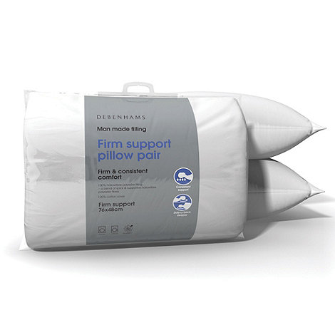 Debenhams - Firm Support pillow pair