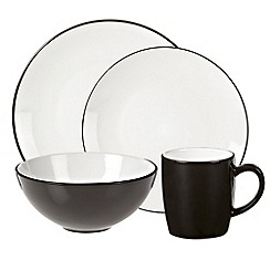 Home Collection Basics - Debenhams black 'Two Tone' range