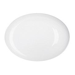 RJR.John Rocha - Etch oval platter