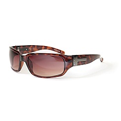 Bloc - Brown metal template sunglasses