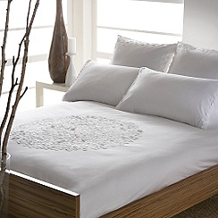 RJR.John Rocha - White purity bed linen