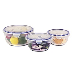 Lock&Lock - Polypropylene set of three containers