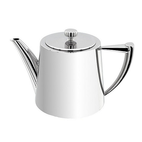 Stellar - +Art Deco+ Stainless Steel 1.2 litre teapot