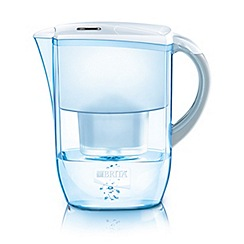 Brita - Plastic 'Fjord' cool white water filter jug