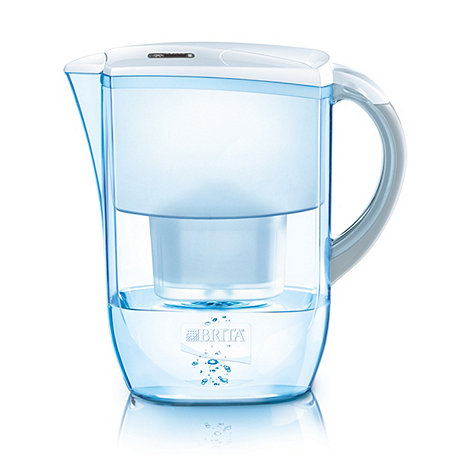 Brita - Plastic +Fjord+ cool white water filter jug
