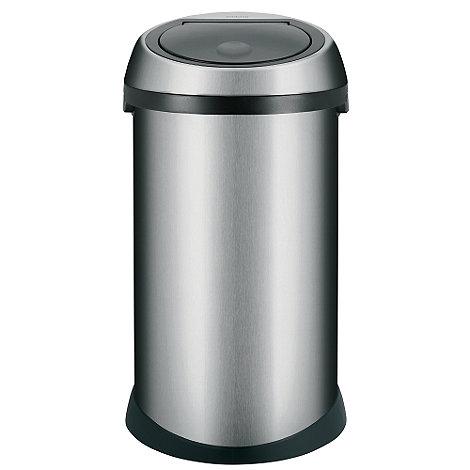 Brabantia - Matt steel 50 litre touch bin