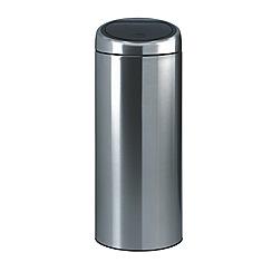Brabantia - Matt steel 30 litre touch bin