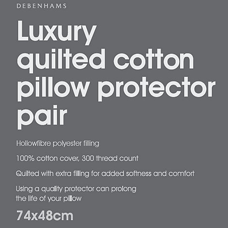 Debenhams - Luxury quilted pillow protector