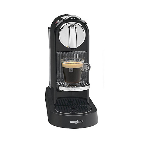 Nespresso - Black +Citiz+ M190 coffee machine by Magimix 11290
