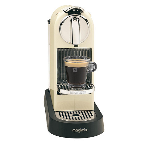 Nespresso - Cream +Citiz+ M190 coffee machine by Magimix11291