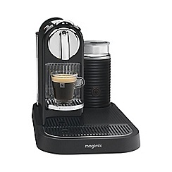 Magimix - Nespresso 'CitiZ & Milk' M190 Black coffee machine by Magimix