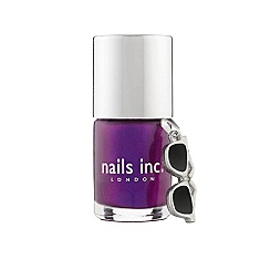 Nails Inc. - Savoy Court nail polish and charm 10ml
