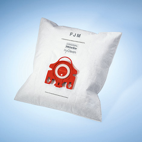 Miele - Red FJM Hyclean vacuum dustbags