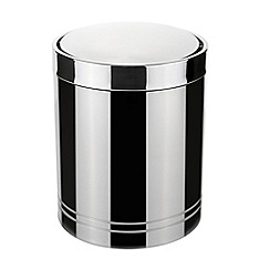 J by Jasper Conran - Stainless steel bathroom bin
