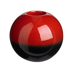 RJR.John Rocha - Red reactive tea light holder