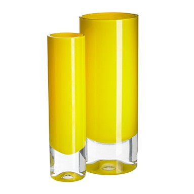 Bright yellow vases - Ben de Lisi - Home -  Debenhams