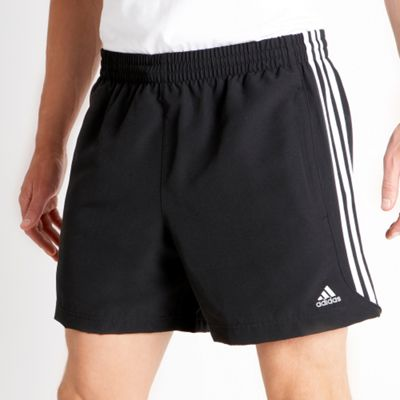 Black 3 Stripe Shorts...
