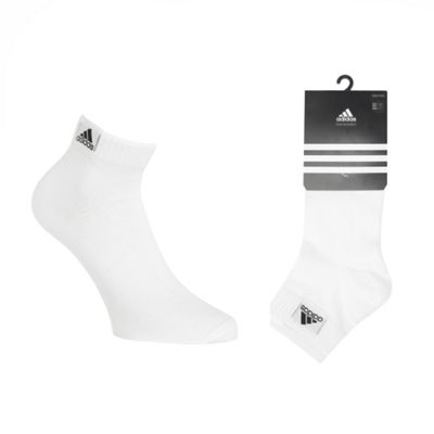 Pack Of Three White Ankle Socks