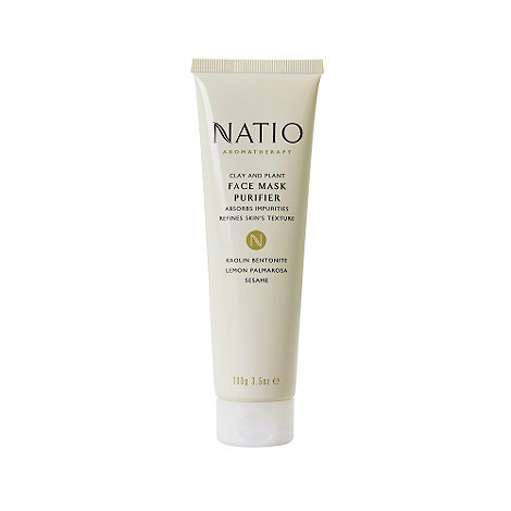 Natio - +Clay And Plant+ face mask 100g