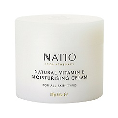 Natio - Natural Vitamin E Moisturising Cream, 100g
