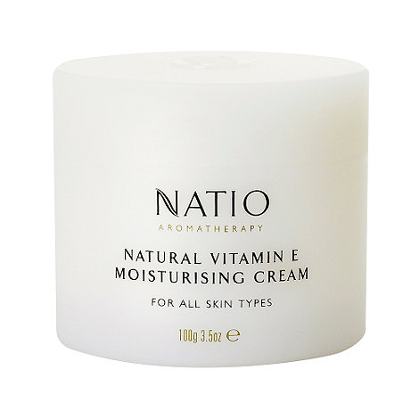 Natio - +Natural Vitamin E+ moisturising cream 100g