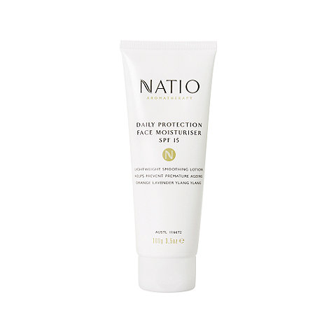 Natio - Daily Protection Face Moisturiser SPF15, 100g