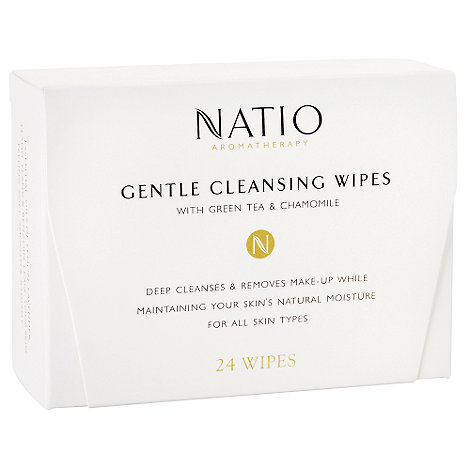 Natio - +Aromatherapy+ gentle cleansing 24 wipes