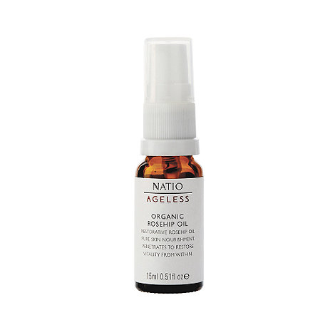 Natio - Ageless Organic Rosehip Oil, 15ml