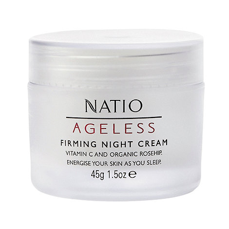 Natio - Ageless Firming Night Cream, 50g