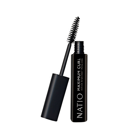 Natio - Maximum Curl Water Resistant Mascara in Blackest Black