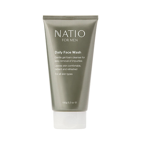 Natio - For Men Daily Face Wash, 150g