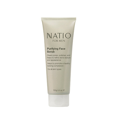 Natio - For Men Purifying Face Scrub 100g