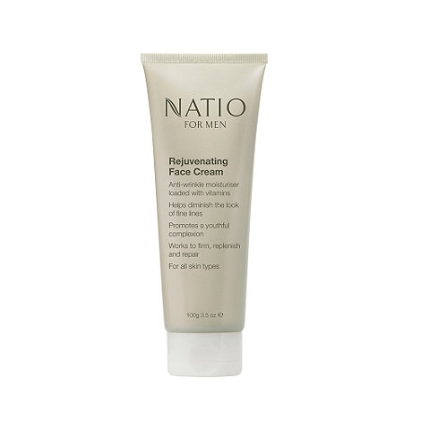 Natio - For Men Rejuvenating Face Cream, 100g