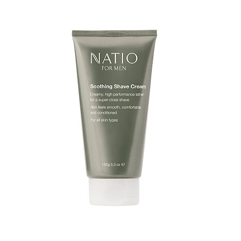Natio - For Men Soothing Shave Cream 150g