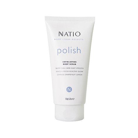 Natio - +Polish+ exfoliating body scrub 150g
