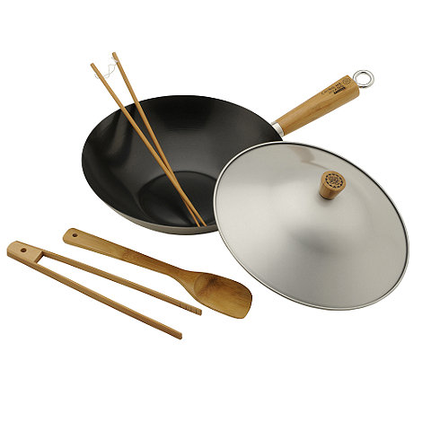 Ching He Huang by Typhoon - Non stick 30cm wok set