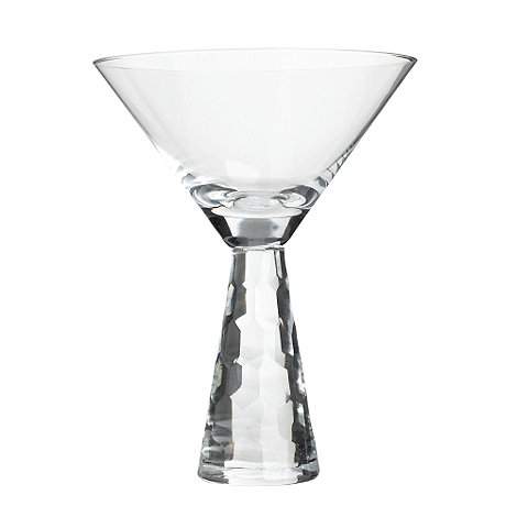 Star by Julien Macdonald - Clear +Cut Stem+ cocktail glass